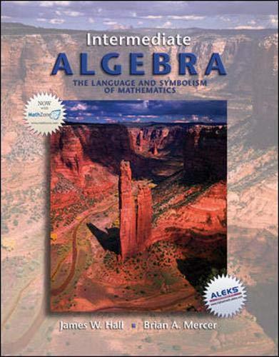 9780073229683: Intermediate Algebra