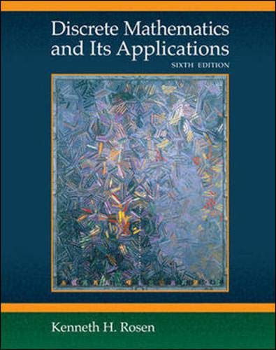 9780073229720: Discrete Mathematics and Its Applications