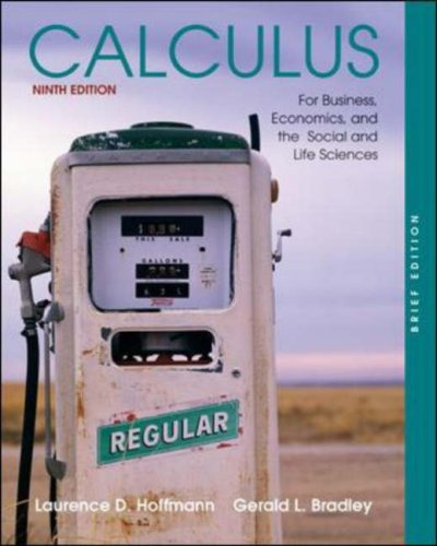 Calculus for Business, Economics, and the Social: Laurence D. Hoffmann,
