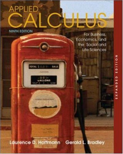 9780073229799: Applied Calculus for Business, Economics, and the Social and Life Sciences, Expanded Edition