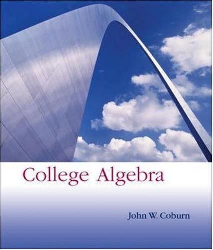 9780073229829: College Algebra