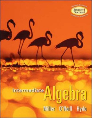 9780073229836: Intermediate Algebra (softcover)