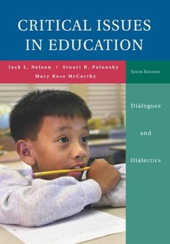 9780073230092: Critical Issues in Education: Dialogues and Dialectics with Powerweb Card