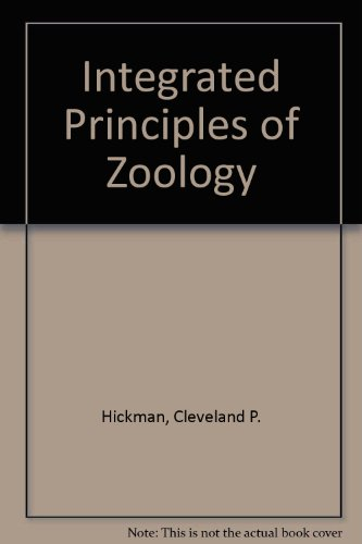 Integrated Principles of Zoology (0073244244) by Hickman, Cleveland P.; Roberts, Larry S.; Larson, Allan