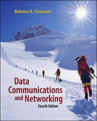 9780073250328: Data Communications Networking (McGraw-Hill Forouzan Networking)