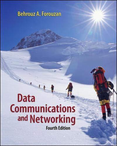 9780073250328: Data Communications Networking (McGraw-Hill Forouzan Networking)