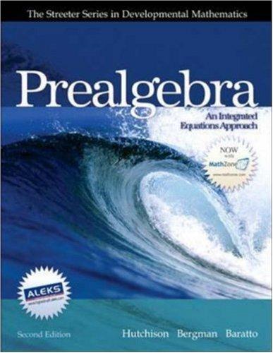 9780073250335: Prealgebra (Streeter Series in Mathematics)