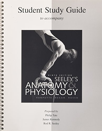 9780073250786: Student Study Guide Anatomy & Physiology