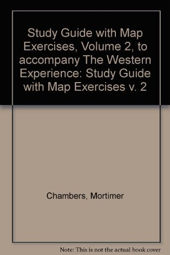 9780073250830: The Western Experience: Study Guide with Map Exercises v. 2