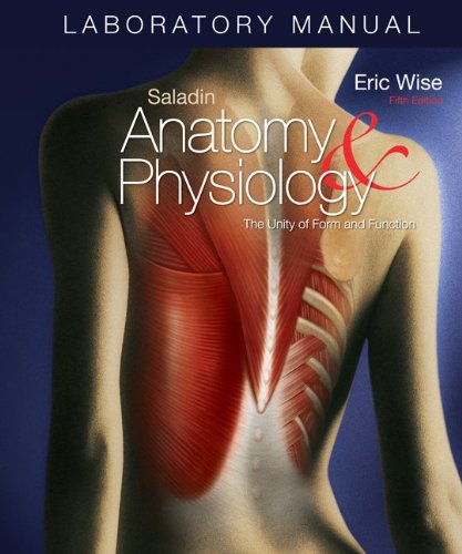 9780073250953: Laboratory Manual Anatomy & Physiology: The Unity of Form and Function