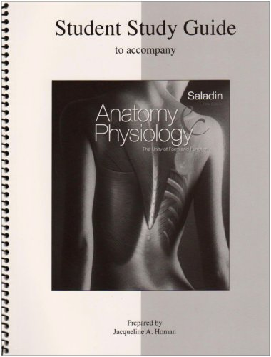 Student Study Guide Anatomy & Physiology: The: Jaque Homan