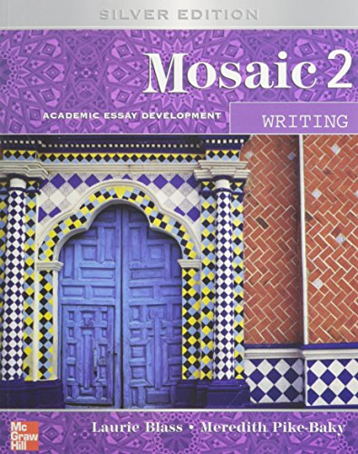 9780073251844: Mosaic Level 2 Writing Student Book