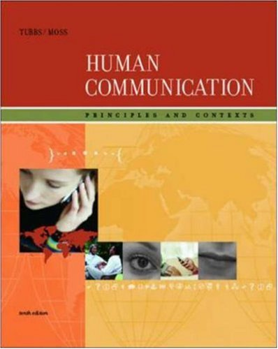 9780073251998: Human Communication: Principles and Contexts with PowerWeb