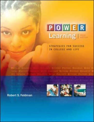9780073252001: POWER Learning: Strategies for Success in College and Life (with BookMark, Online Learning Center Bind-In Card)