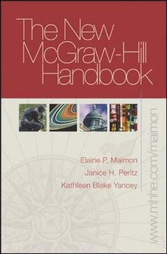 New McGraw-Hill Handbook (hardcover) with Student Access: Elaine Maimon, Janice