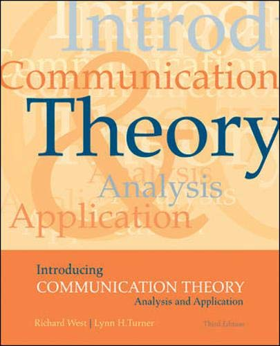 9780073252193: Introducing Communication Theory: Analysis and Application