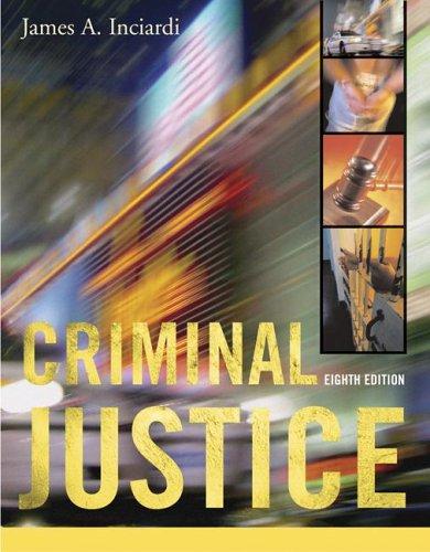 9780073252315: Criminal Justice