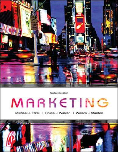 Marketing with Online Learning Center Premium Content: Michael J Etzel,