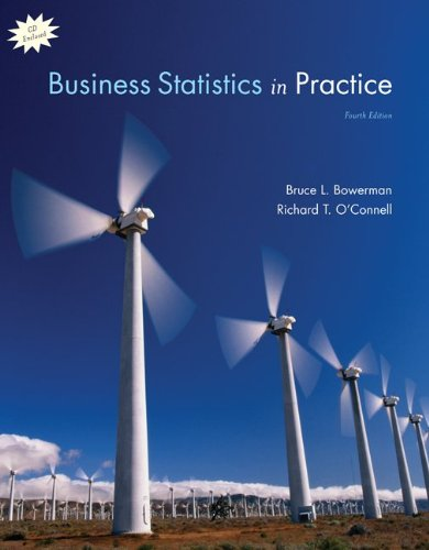 9780073252919: Business Statistics in Practice with Student CD