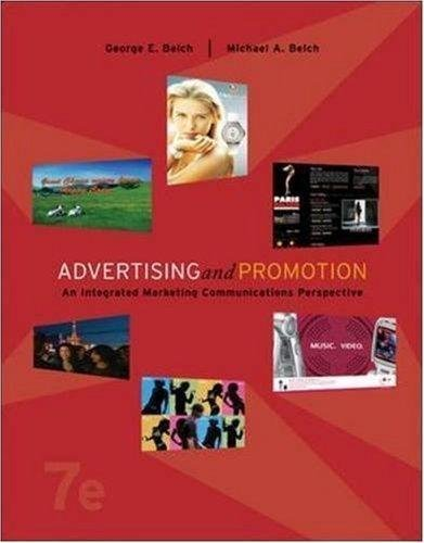 9780073253473: Advertising and Promotion (An inergrated marketing communications perspective)