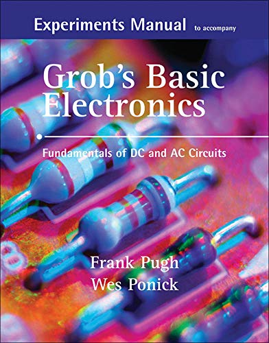 9780073254814: Experiments Manual with simulation CD to accompany Grob's Basic Electronics: Fundamentals of DC/AC Circuits