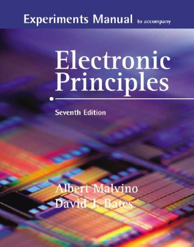 9780073254821: Experiments Manual to Accompany Electronic Principles