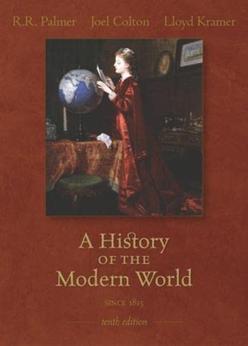 9780073255033: A History of the Modern World Since 1815, Tenth Edition (v. 2)