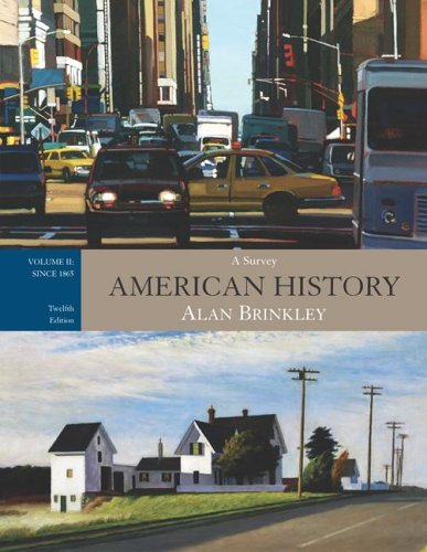 9780073255064: American History: A Survey,  Volume 2,  w/PowerWeb and Primary Source Investigator (WITH BIND-IN CARD)