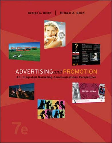 9780073255965: Advertising and Promotion: An Integrated Marketing Communications Perspective w/ Premium Content Card