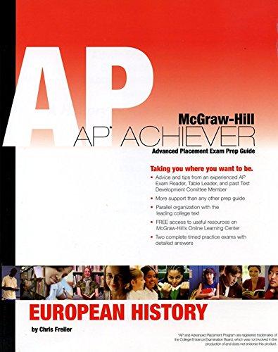 9780073256726: AP Achiever Advanced Placement Exam Prep Guide: European History