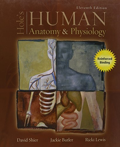 Hole's Human Anatomy & Physiology: Shier, David; Butler,
