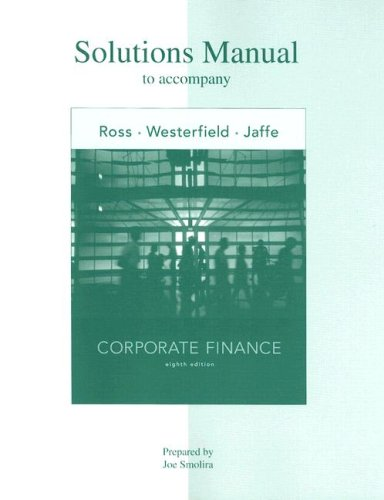 corporate finance ross westerfield pdf