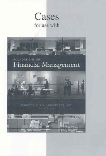 9780073257440: Casebook to accompany Foundations of Financial Management