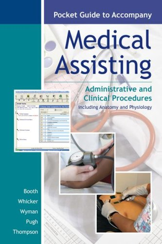 9780073257761: Pocket Guide to accompany Medical Assisting: Administrative and Clinical Procedures