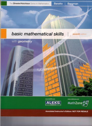 9780073257778: BAsic Mathematical Skills with Geometry - Annotated Instructor's Edition
