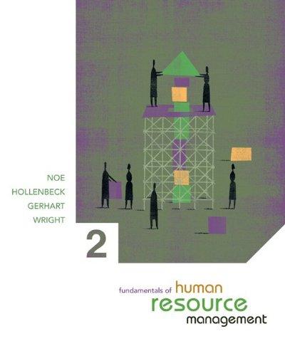Fundamentals of Human Resource Management with Online: Raymond Noe,John Hollenbeck,Barry
