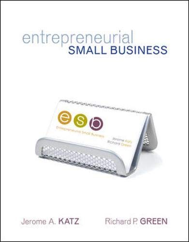 9780073257952: Entrepreneurial Small Business with Online Learning Center PowerWeb Card