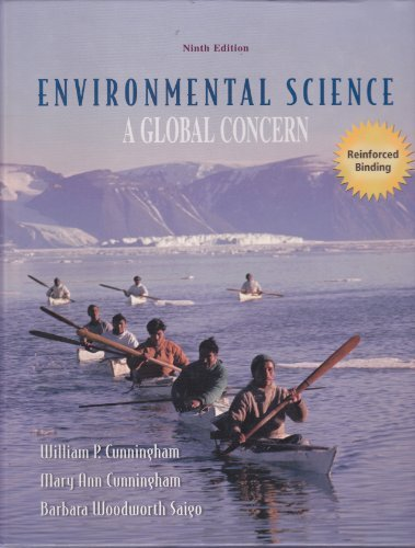Environmental Science A Global Concern: Cunningham, William P.;