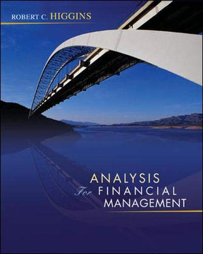 9780073258584: Analysis for Financial Management + S&P subscription card: With S&P Subscription Card