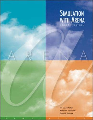 Simulation with Arena with CD (McGraw-Hill Series