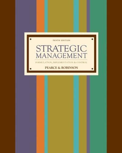 9780073260730: Strategic Management with Premium Content Card and Business Week Subscription