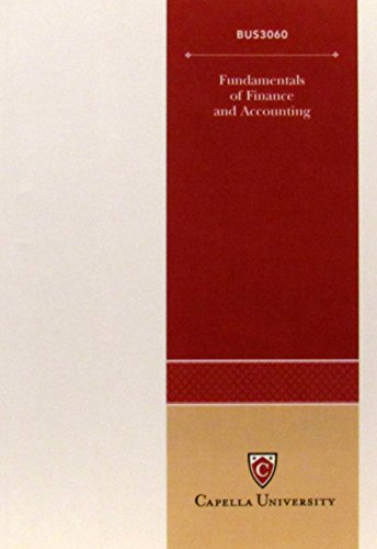 9780073260778: Fundamentals of Finance and Accounting