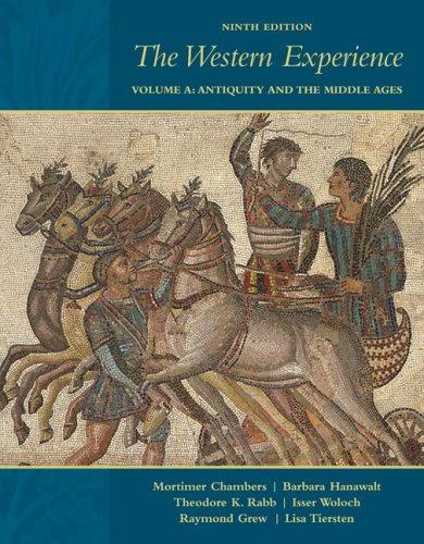 9780073261249: The Western Experience, Vol. A: Antiquity and the Middle Ages