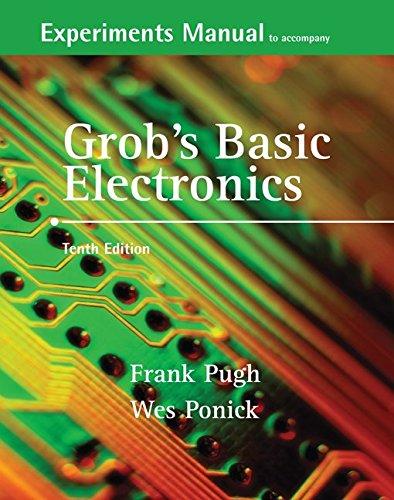 9780073261263: Experiments Manual and Simulation CD to accompany Grob's Basic Electronics