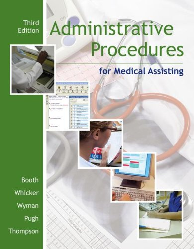 Administrative Procedures for Medical Assisting