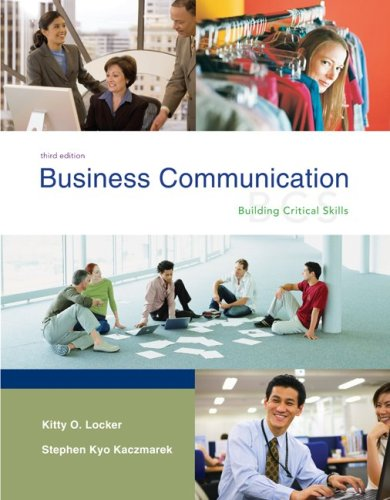 9780073261409: Business Communication: Building Critical Skills with BComm GradeMax