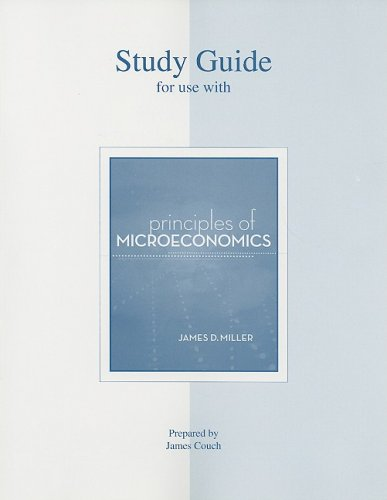 Study Guide to accompany Principles of Microeconomics: Couch, James
