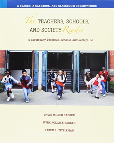9780073262208: Teachers, Schools,+Society Rdr-CD (software only)