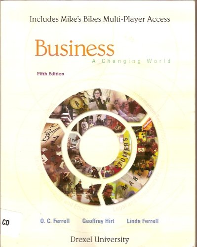 9780073263168: business fifth edition a changing world
