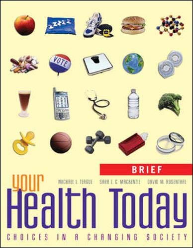 9780073265315: Your Health Today, Brief: Choices in a Changing Society